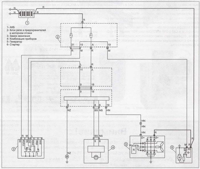 Принципиальная схема фиат альбеа